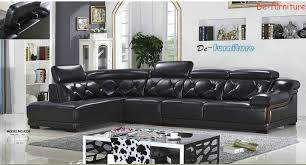 A23 L shape genuine leather sofa modern home furnitureoffice