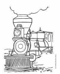 Here are the available worksheets about colours! Train Coloring Pages