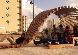 FORMAKERS GoldenSection Contouring Pavilion Pharos University Inspiration Furniture Design University