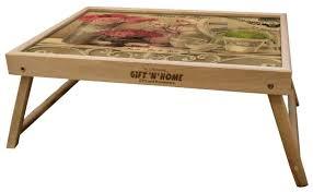 <b>Поднос</b>-столик <b>Gift</b>'n'<b>Home</b> TL (дуб) — купить по выгодной цене ...