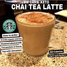misssyketo on insram regrann from letsketo low carb keto chai tea latte nutrition facts 60 calories fat 2 5g