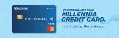 hdfc bank millennia a credit card for