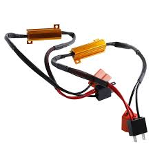 online get cheap electronic wire harness aliexpress com alibaba 2pcs h7 50w 6ohm led drl fog light can load resistor wiring harness dc 12