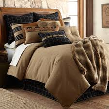 lodge elegance ashbury bear bedding sets