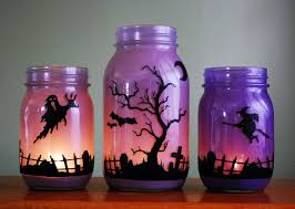 How To Decorate A Jar Halloween Decorating Jars Goshowmeenergy 74