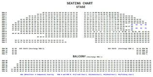 Seating Chart Yavapai Symphony Association
