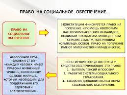 Понятие и система социального обеспечения Курсовая работа т  Правовое социальное обеспечения реферат