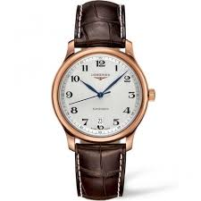 longines men s rose gold master automatic date watch l2 628 8 78 3 longines longines men s rose gold master automatic date watch