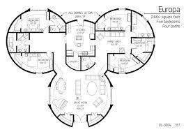 5 bedroom floor plans. Floor Plans 5 Bedrooms Monolithic Dome Institute. Southwest Bedroom T