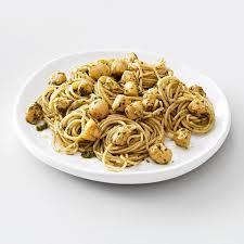 Pesto Vermicelli with Scallops Recipe ...