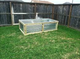 metal garden beds diy corrugated raised bed plans g
