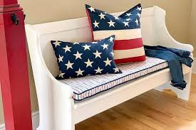 diy bench cushion cover sewing be