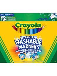 12 смываемых <b>фломастеров Супер чисто Crayola</b> 2308941 в ...