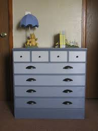 Ombre Dresser makeover using Annie Sloan Chalk Paint in Old Violet ...
