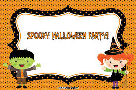 Blank Halloween Invitation Templates 028 Free Blank Halloween Invitation Templates Template
