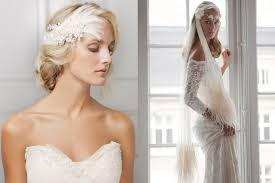 stylish wedding hair accessories interview with jannie baltzer Wedding Hair Pieces With Feathers jannie's hair accessories are undoubtedly for the fashion forward bride (left picture) 'lis', white ostrich plumes with lace and pearls, 266 euros Flower and Feather Hair Pieces