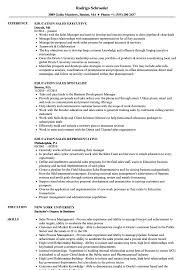 Resume Education Examples Education Sales Resume Samples Velvet Jobs