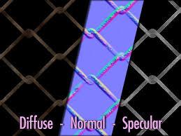 ProMaterials Full Perm Chain Link Fence Texture Set SLUniverse