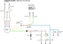 xt250 wiring diagram honda trail bike forums xt250 wiring diagram