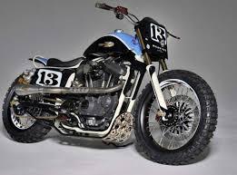 harley xlst3 sportster dirt track by shaw speed custom