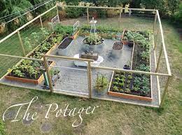 diy garden fence fenced vegetable garden
