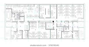 office room plan. Standard Office Furniture Symbols Set Used In Architecture Plans, Planning Icon Set, Graphic Room Plan