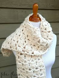 Chunky Yarn Crochet Patterns Best Fiber Flux Free Crochet PatternSugar Cookie Scarf