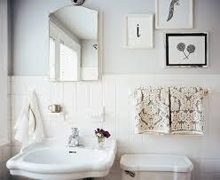 old bathroom tile. Porcelain-tiles-backsplash-gray-walls-beautiful-vintage-bathroom- Old Bathroom Tile