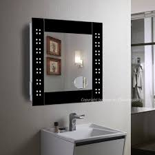 croydex bathroom cabinet: illuminated mirror bathroom cabinet led illuminated bathroom cabinet mirror with shelves sensor