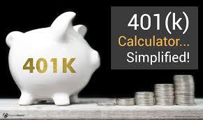 401k Calculator Simplified