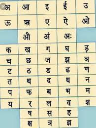 Swar Vyanjan Chart Write Swar And Vyanjan Full Brainly In