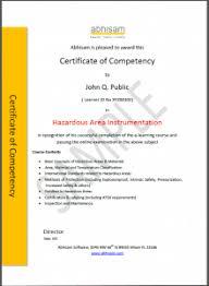 Hazardous Area Instrumentation Training E Learning