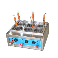 Commercial 4kw6kw Table Top 46 Baskets Electric Noodles Cooker