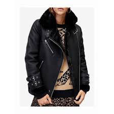 perfect winter womens warehouse faux leather oversized biker jacket