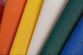 open weave standard mesh material