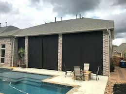 patio shades houston large size of outdoor shades roll up or down away shade patio sun motorized patio shades houston