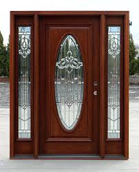 exterior door with sidelights oval glass front curtains for half doors cl