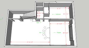 basement layout design. Basement Layout Options Design 7