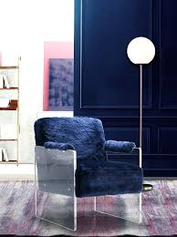 fur accent chair meridian furniture navy navy fur accent chair diy fur accent chair