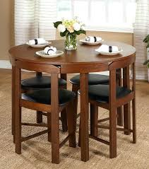 compact dining tables compact round dining set this 5 piece dining set offers a stylish mid compact dining tables