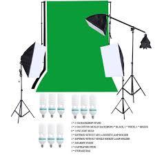 from ru stock photography lighting kit photo studio kit with backdrop light stand light bulb