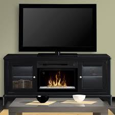 aged black muskoka fireplace tv stands 370 195 86 kit 64 1000 electric entertainment center freestanding