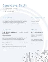 Scholarship Resume Amazing Customize 40 Scholarship Resume Templates Online Canva