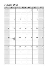 2015 monthly calendar calendar lab customizable monthly calendars portrait calendars