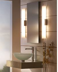 lighting in bathrooms. left solace bath bar by tech lighting right tigris oval recessed mirror in bathrooms