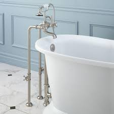 Stand alone tub faucet Plumbing Free Standing Mymediaguycom Architecture Free Standing Tub Faucet Mymediaguycom