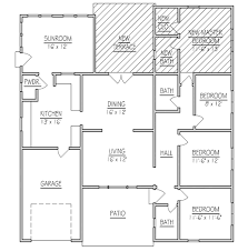 interior home addition floor plan new master bedroom suite plans additions two story inside 3