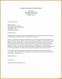 Sample Resume Cover Letters For Registered Nurses Adriangatton Com