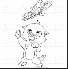 fantastic cute cat coloring pages with kitten coloring page ...