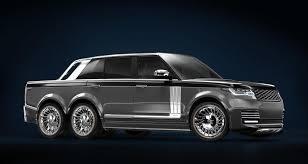 Range Rover 6x6 Pickup Truck Is A Superyacht S Terrestrial 6 Wheel ...